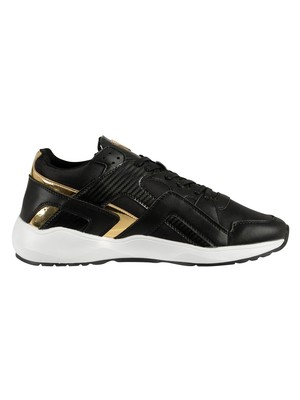 Sik Silk Evolution Trainers - Black & Gold