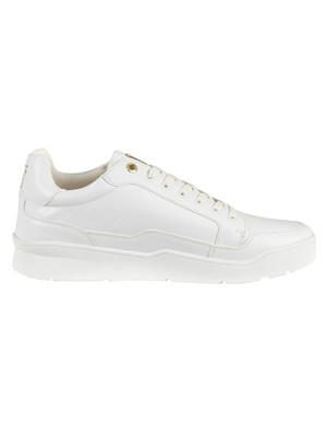 Sik Silk Pursuit Monogram Trainers - White