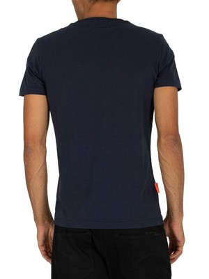Superdry Collective T-Shirt - Darkest Navy