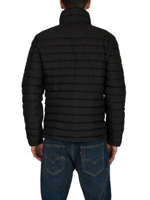 Superdry Double Zip Fuji Jacket - Washed Black