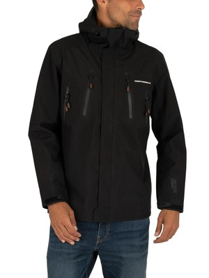 Superdry Hydritech Ultimate Waterproof Jacket - Black