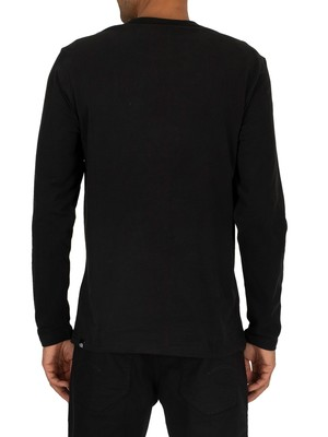 The North Face Fine Longsleeved T-Shirt - Black/White