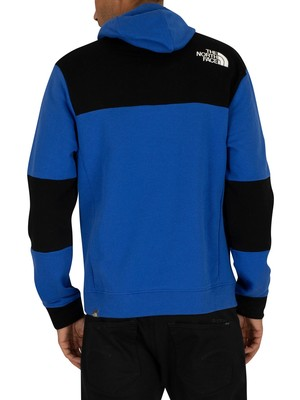 The North Face Himalayan Pullover Hoodie - Blue/Black