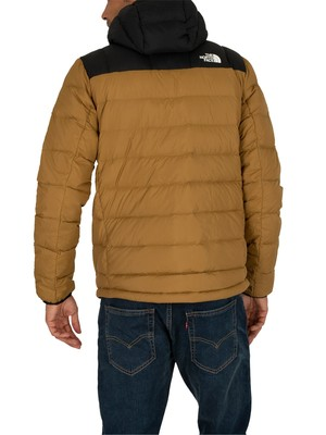 The North Face Paz Logo Puffer Jacket - British Khaki