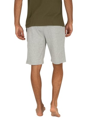 Tommy Hilfiger Logo Sweat Shorts - Grey Heather