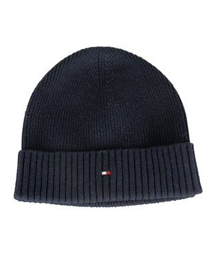 Tommy Hilfiger Pima Cotton Beanie - Sky Captain
