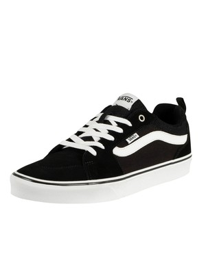 Vans Filmore Suede Canvas Trainers - Black/White