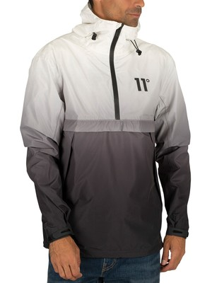 11 Degrees Waterproof Hurricane Jacket - Black/White