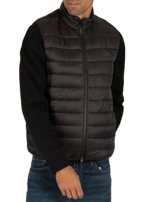 Barbour International Reed Gilet - Black