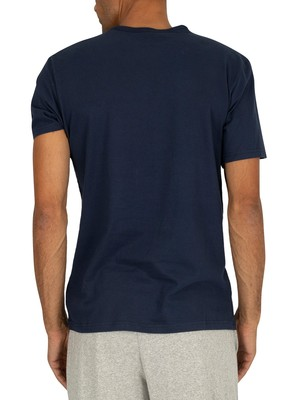Calvin Klein Graphic T-Shirt - Blue Shadow