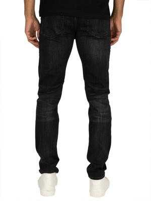 Calvin Klein Jeans Slim Tapered 058 Jeans - Lille Black