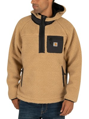 Carhartt WIP Prentis Pullover Jacket - Dusty Brown