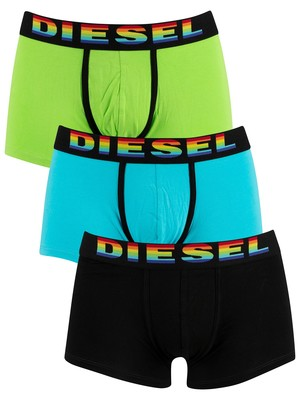 Diesel UMBX Damien 3 Pack Trunks - Multi