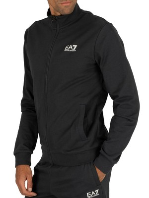 EA7 Logo Tracksuit - Night Blue