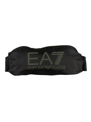 EA7 Train Visibility Sling Bag - Black/Stone Grey
