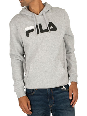Fila Axel Pullover Hoodie - Light Grey Marl