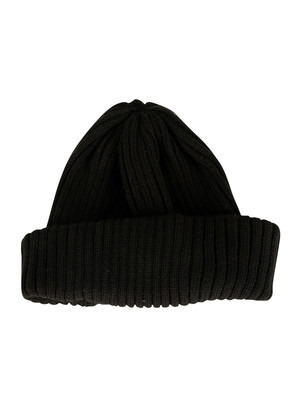 Fila Braker Ribbed Turn Up Beanie - Black