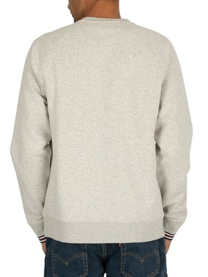 Fila Pozzi Sweatshirt - Light Grey Marl