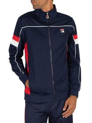 Fila Slalom Funnel Track Jacket - Peacoat/Red/White