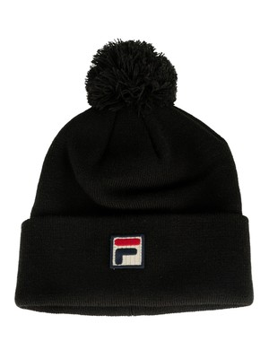 Fila Wilson Turn Up Beanie - Black
