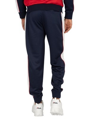 Fila Yuri Colour Block Track Joggers - Peacoat/White/Navy