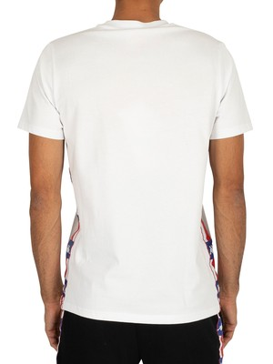 Kappa Authentic LA Barwa T-Shirt - White/Blue