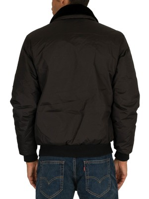 Schott Air Top Bomber Jacket - Black