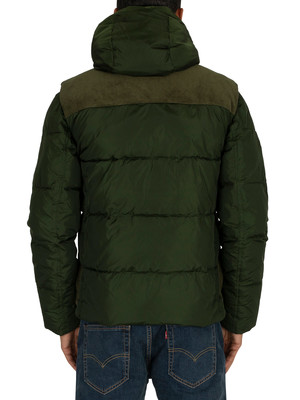 Scotch & Soda Quilted Jacket - Military