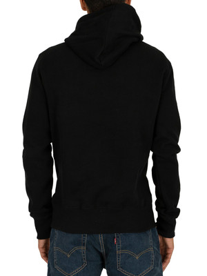 Superdry Collective Pullover Hoodie - Black