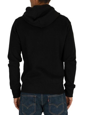 Superdry Collective Zip Hoodie - Black