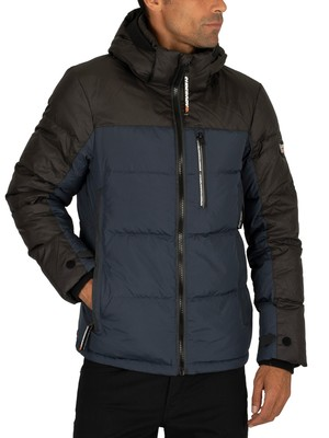 Superdry Cortex Down Jacket - Dark Ink