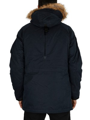 Superdry SDX Parka Jacket - Deep Navy