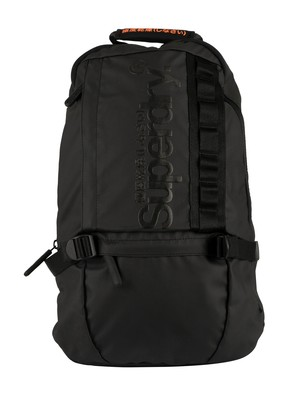 Superdry Slim Line Tarp Backpack - Black