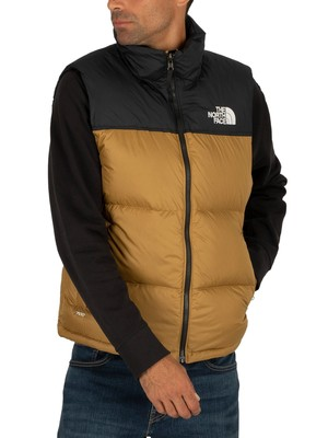 The North Face 1996 Retro Nuptse Gilet - British Khaki