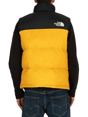 The North Face 1996 Retro Nuptse Gilet - Yellow