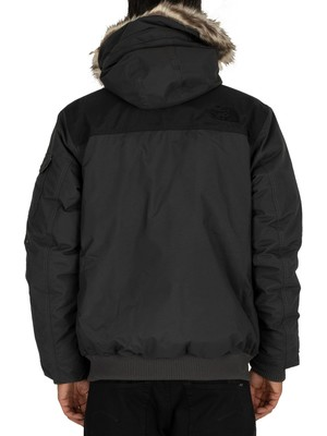 The North Face Gotham Parka Jacket - Grey/Black