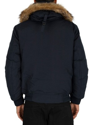 Tommy Hilfiger Hampton Down Bomber Jacket - Sky Captain