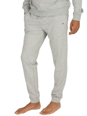 Tommy Hilfiger Logo Joggers - Grey Heather