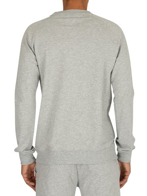 Tommy Hilfiger Logo Sweatshirt - Grey Heather
