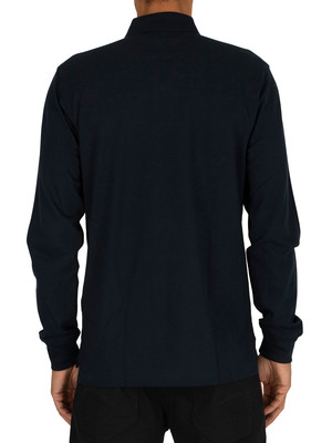 Tommy Hilfiger Regular Longsleeved Polo Shirt - Sky Captain