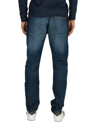 Tommy Jeans Modern Tapered Jeans - Atlanta Dark Blue