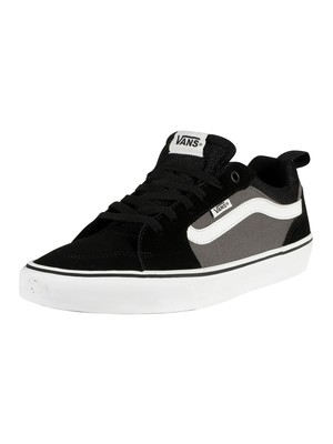 Vans Filmore Suede Canvas Trainers - Black/Pewt