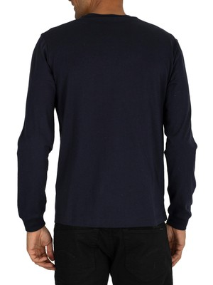 Champion Graphic Longsleeved T-Shirt - Night