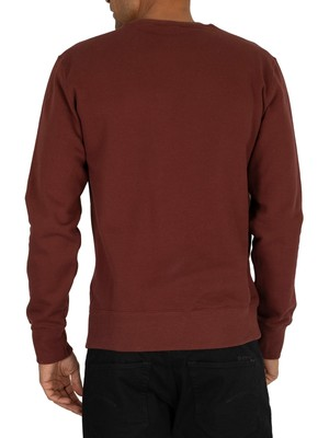 Champion Graphic Sweatshirt - Burgundy