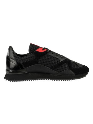 Cruyff Catorce Trainers - Black/Red
