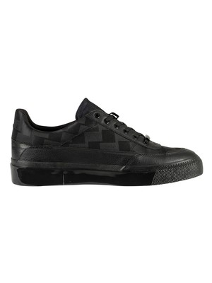 Cruyff Indiphisto Leather Trainers - Black