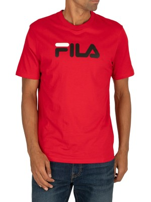 Fila Eagle Logo T-Shirt - Chinese Red