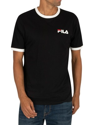 Fila Rosco T-Shirt - Black/Red/White