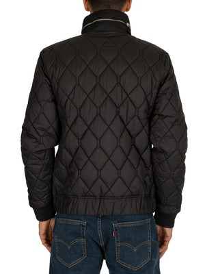 G-Star Meefic Quilted Overshirt Jacket - Black