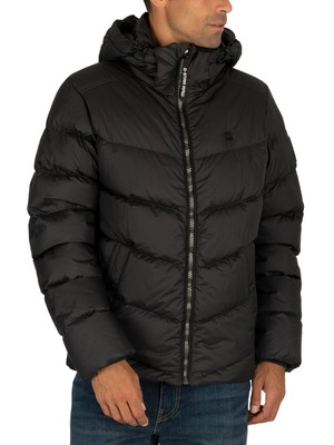 G-Star Whistler Down Puffer Jacket - Dark Black